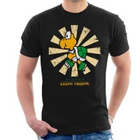 Kaos Koopa Troopa Retro Japanese Mario T-shirt