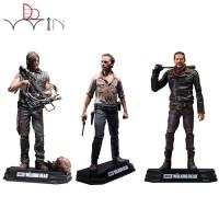 Action Figure Model The Walking Dead Bahan PVC Ukuran 18cm