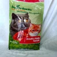 IM ORGANIC Catfood Growth & Adults 7.5kg Imo GA Pakan Hewan Kucing