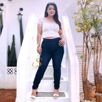 Legging Jeans Size 35-42 SYAKBOS JUMBO Big Size Legging Soft Jeans Cla