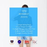 High Waist Jeans HW Highwaist Jeans Ice Blue SBK 86003 - 87003 Jeans