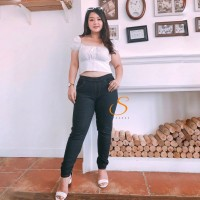 Legging Jeans Big Size Premium SYAKBOS Jegging Clara Indigo Soft Jeans