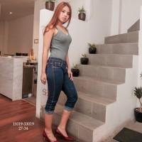 Skinny Jeans 7/8 Jeans Wanita SBK 11019 - 33019 Jeans