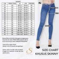 Skinny Jeans Jumbo Big Size Premium Soft Jeans SYAKBOS Garmen Jeans