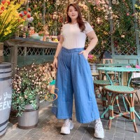 Kulot Premium SYAKBOS Big Size Legging Kulot Jeans Celana