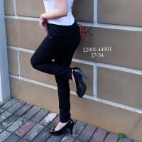 Skinny Jeans Skinny Jeans Wanita Hitam SBK 22001 - 44001 Jeans