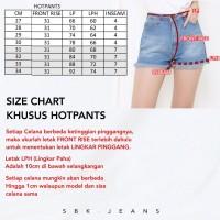 Short Jeans Hotpants Highwaist Jeans HW SBK 5028 - 8028 Jeans