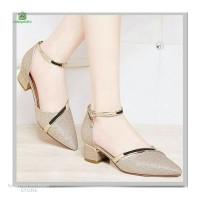 Sepatu Wanita Sepatu Pesta hak tahu sepatu gliter wanita SP182
