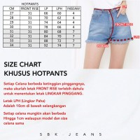 Short Jeans Hotpants Highwaist Jeans HW SBK 5200 - 8200 Jeans
