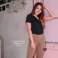 Legging Jeans Big Size Premium SYAKBOS Jegging Clara Chino Soft Jeans