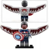 Lego Falcon Minifigure Avengers Endgame Super Heroes XH1306
