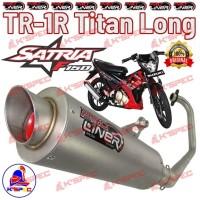 Knalpot ProLiner TR-1R Titan Long SATRIA FU 150 CARBU Racing Full