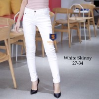 Skinny Jeans Premium White SYAKBOS Skinny Soft Jeans Jeans