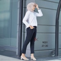 Cutbray Jeans Celana Cutbray Jeans HW Flare Ankle SBK 9001 Jeans