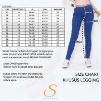 Legging Jeans Big Size Premium SYAKBOS Jegging Clara Grey Soft Jeans J