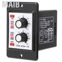 MaiB On Off Twin Timer Relay Knob Control Time Switch ADTV-YC 6S-60M