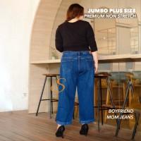 Boyfriend Jeans Premium Blue Black SYAKBOS Boyfriend Jeans Jeans