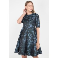 Dress Wanita Edition ED69 Dk. Green (Print)