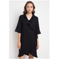Dress Wanita EDITION ED62BLACK Short Sleeveless