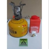 Paling Terlaku Paket A Alat Masak Kompor Ultralight 3000W Dan Canister