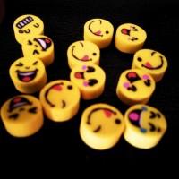Penghapus Mini Motif Emoji / Emoticon / Smiley