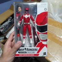 Mighty Morphin Red ranger Power Rangers Lightning Collection Hasbro