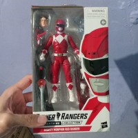 Lightning Collection Power Rangers merah red mighty morphing hasbro