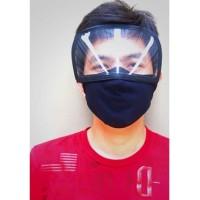 Masker Visor face shield anti virus unisex