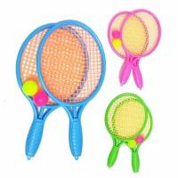 Mainan Raket Senar dan Bola Tenis