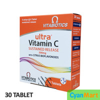 Vitabiotics / Ester C Multi Vitamin C Suplemen Makanan Antioksidan - VITABIOTICS 30