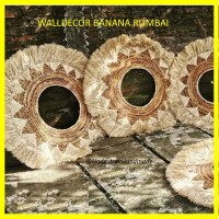 WALLDECOR BANANA RUMBAI / HIASAN DINDING DIAMETER 100CM