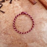 Gelang Tridatu Split Twister Red