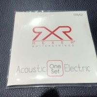 Senar akustik REXER / Acoustic Electric Guitar String REXER