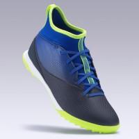 Kipsta Sepatu Futsal Sintetis Anak Agility 500 Jr Mid Hg Blue Blue