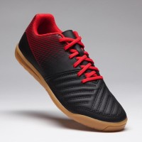 Kipsta Sepatu Futsal Anak Agility 100 Futsal Jr Black Original