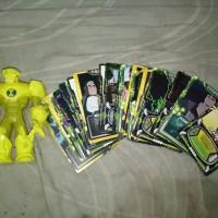 Figure Ben Ten (10) & Kartu Koleksi