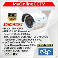 Kamera CCTV Outdoor Murah EDGE 2MP 4 In 1 AHD HDTV HDCI Analog CVBS