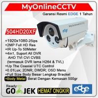 Edge 504-HD20XF Kamera CCTV Outdoor 2MP Asli Suport All DVR Infra 50M