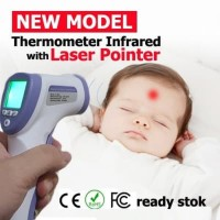Thermometer infrared termometer tembak non contact noncontact digital