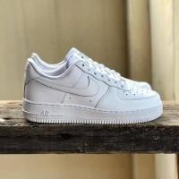 Sepatu Wanita Nike Air Force all white Original