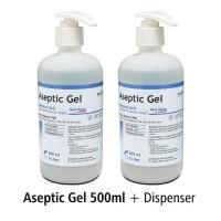 Aseptic OneMed Gel 500ml+Dispenser