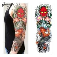 Tattoo/Tattoo temporary/Tattoo Temporer/Tattoo 17x48 cm Qb025