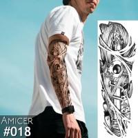 Tattoo/Tattoo temporary/Tattoo Temporer/Tattoo 17x48 cm Qb0018