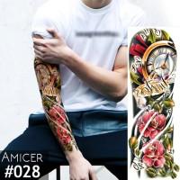 Tattoo/Tattoo temporary/Tattoo Temporer/Tattoo 17x48 cm Qb028