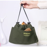 Korean Dual Bag in Bag Organizer / Tas Kosmetik Wanita BIG Size