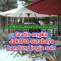 set payung untuk cafe kafe taman hotel villa restouran apartemen