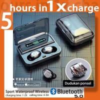 F9 Headset Bluetooth 5.0 Sport Waterproof Wireless Stereo
