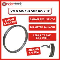 Velg Motor DID Ring 17 Lebar 185 Chrome Asli 185 x 17