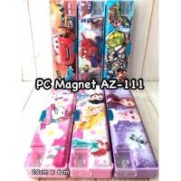 Pencil Case/Tempat Pensil Magnet AZ-111