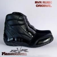 Sepatu Motor Touring RVR Original New Model Baru Bikers Terlaris